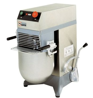 Santos Mixer / Mix Mixer | Acht Entwicklung | Edelstahl-Schüssel 10 Liter | 36x53x (H) 58cm