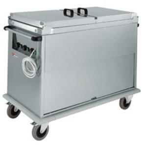 Diamond Bain Marie Wagen 3x GN 1/1 | Draaideur | 1,8 kW | 950x700x(h)970 mm