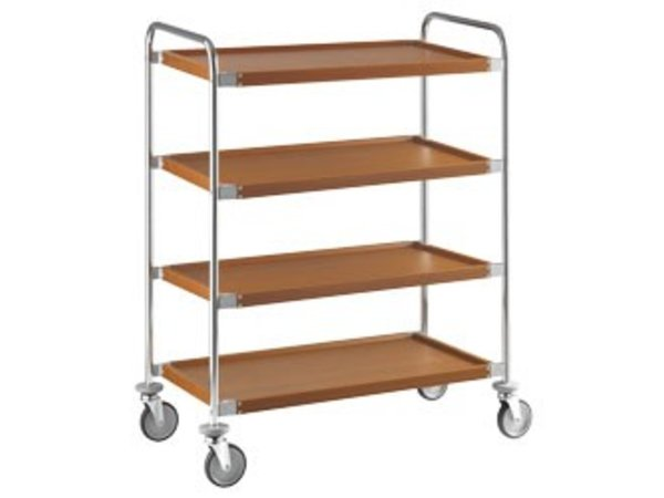 XXLselect Trolley's Level 4 | Imitation Wood layer | 1090x590x (h) 1310 mm