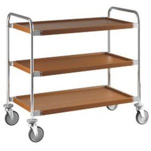 XXLselect Trolley 3 Levels | Imitation Wood layer | 1090x590x (h) 960 mm