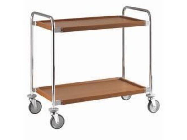 XXLselect Trolley's Level 2 | Covered with Wood Film | 1090x520x (h) 960 mm