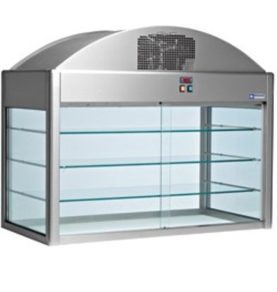 Diamond Neutral Showcase   With Bottom   2160x730x (h) 1150 mm   0.1 kW