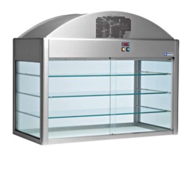 Diamond Refrigerated display case | With Bottom | 2160x730x (h) 1150 mm | 1.2 kW