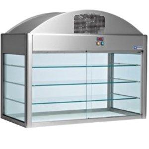 Diamond Gekoelde Vitrine | Met Bodem | 1410x730x(h)1150 mm | 1,2 kW