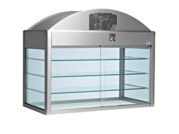 Diamond Kühlvitrine | Mit Bottom | 1410x730x (h) 1150 mm | 1,2 kW