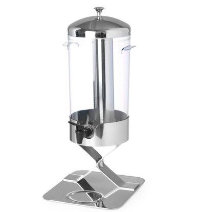 Hendi Sapdispenser Kühlen mit Eis | 5 Liter Tropfwasserhahn | 280x220x (h) 510mm