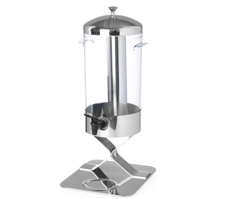 Hendi Sapdispenser Kühlen mit Eis   5 Liter Tropfwasserhahn   280x220x (h) 510mm