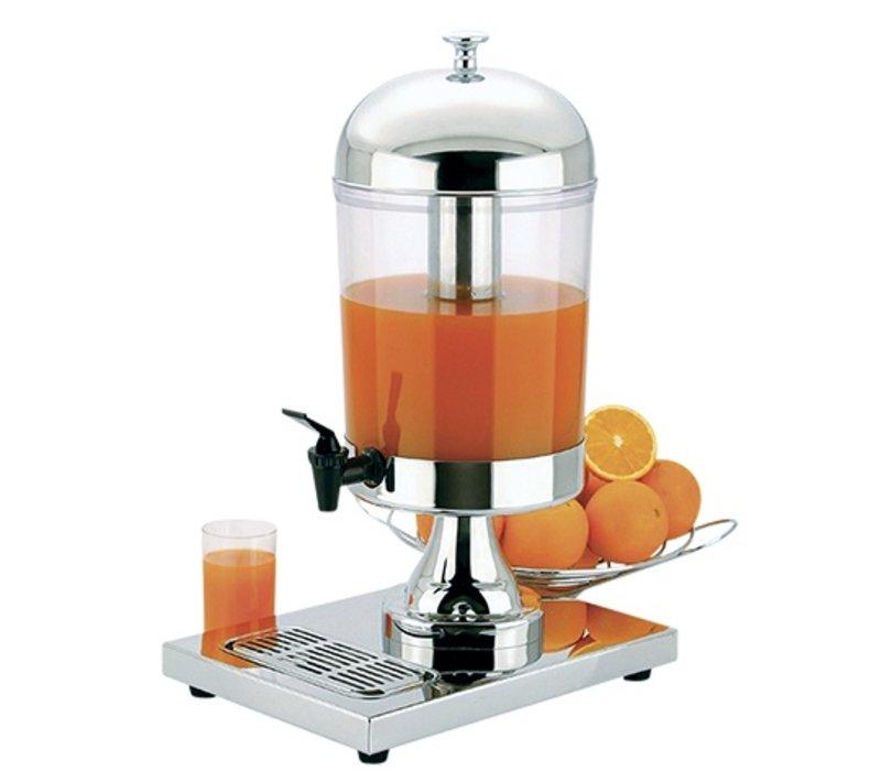 XXLselect Buffet Drinks Dispenser gloss stainless steel | 10 liters with drain valve | 260x360x (h) 550 mm