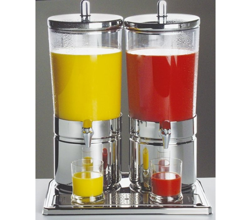 APS Sapdispenser with 2 Heat Sinks | 2 x 6 liters with drain valve | 420x320x (h) 520 mm