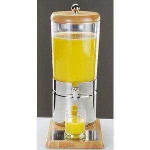 APS Sapdispenser met 1 Koelelement | Houten stijl | 6 Liter met Aftapkraan | 230x350x(h)520 mm