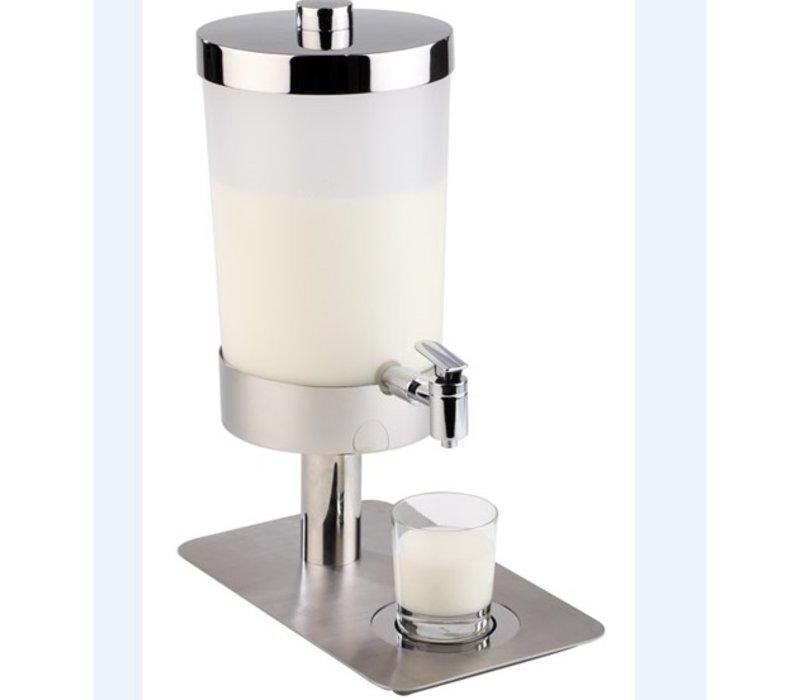 APS Melkdispenser 6 Liter | 2 Koelelementen met Aftapkraan | 210x350x(h)480 mm
