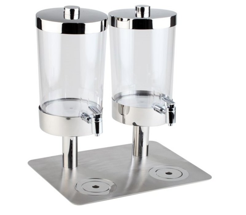APS Sapdispenser with 4 Heat Sinks | 2x6 liters with drain valve | 350x450x (h) 480 mm