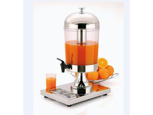 APS Sapdispenser Edelstahl | 8 Liter Eisspeicher in der Mitte | 360x260x (h) 550 mm