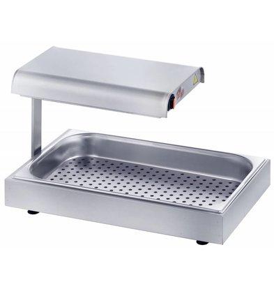 XXLselect Frites Warming Device - 56x33x (h) 35cm - 400w