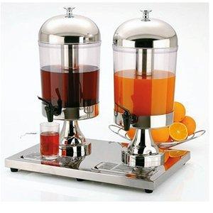 APS Sapdispenser Eiskühlung Element | 2x8 Liter mit Ablassventil | 360x520x (h) 550 mm