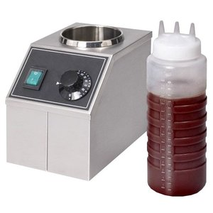 XXLselect Chocolade saus verwarmer - 1 liter - 15x22x(h)20cm - 170W