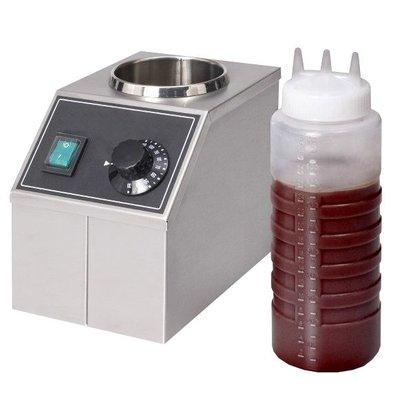 XXLselect Chocolate sauce heater - 1 liter - 15x22x (h) 20cm - 170W