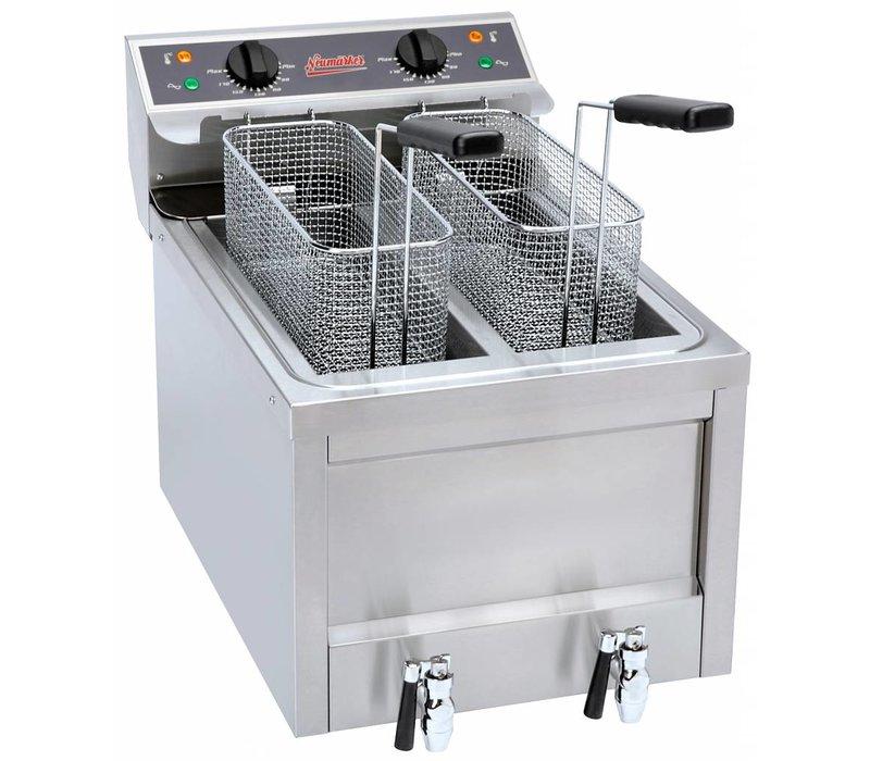 Neumarker Potato Twister Fryer - 2x8 Liter - 40x60x46cm - 2 x 3,5kw