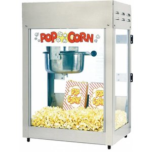XXLselect Popcorn Machine - Titan - 51x36x (h) 70cm