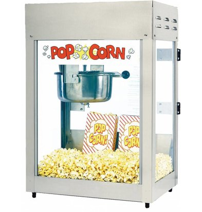 XXLselect Popcorn Machine - Titan - 51x36x (h) 70cm