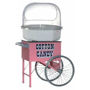 XXLselect Cotton Candy Machine Cart - 80x65x (h) 72cm