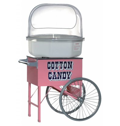 XXLselect Cotton Candy Machine Cart - 80x65x (h) 72cm