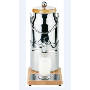 APS Melkdispenser met Koelelement in voet   Originele Melkbus   3 Liter met Aftapkraan   210x320x(h)390 mm