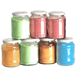 XXLselect 6 x 500g pots Sugar for Cotton candy - 4000 Portions - Green