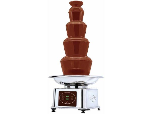 XXLselect Chocoladefontein - Automatisch - 5kg Chocolade - 32x(h)84cm