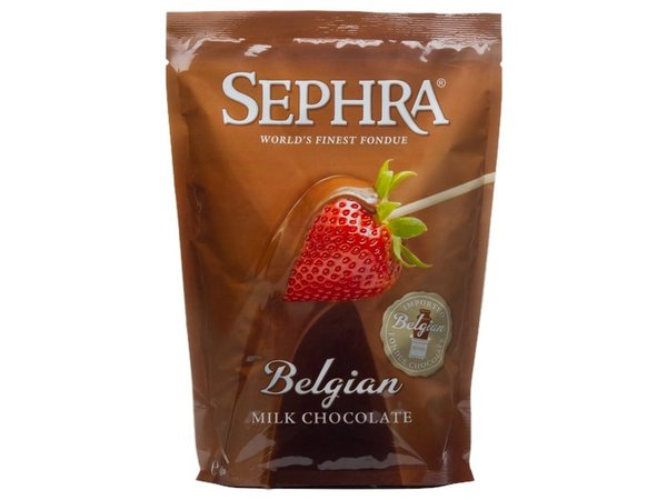 XXLselect Belgian Milk Chocolate for melting - Bag 2.5 kg - GLUTEN FREE!
