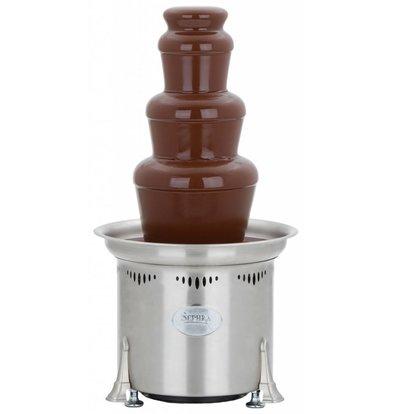 XXLselect Chocolate Fountain - Cortez - 3kg - 50/75 persons - 32x (h) 59cm