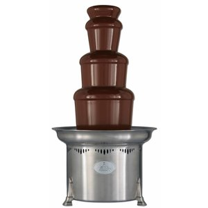 XXLselect Chocolate fountain - Montezuma - 10kg - 150/250 persons - 47x (h) 86cm