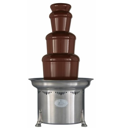 XXLselect Chocolate fountain - Montezuma - 10kg - 150/250 persons - 47x (h) 86cm