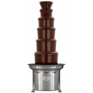 XXLselect Chocoladefontein - Verstelbaar - 10kg - 150/250 personen - 47x(h)86/112cm