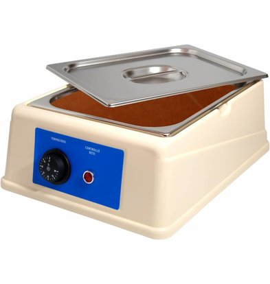XXLselect Chocolate Melter - 6 Liter - 1 / 2GN - 100mm
