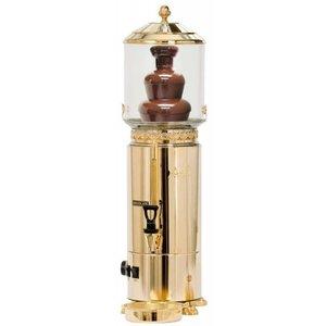 XXLselect Schokoladenbrunnen / Dispenser im Gold - 5 Liter