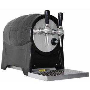 XXLselect Proffesionele Gluhweinketel | Type Vat | 31x58x(h)45cm | 400V | 100 Liter p/uur