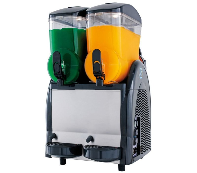 Neumarker Gekoelde drankendispenser - 2x 12 Liter - 470x520x(h)810 mm