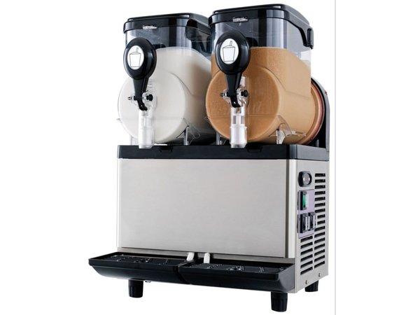 Neumarker Refrigerated beverage dispenser - 2x5 Liter - 400x400x (h) 630 mm