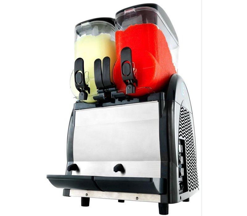 Neumarker Twist slush dispenser - 2 x 12 Liter - 460x520x (h) 810 mm