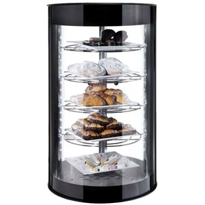 Neumarker Warming Showcase Tower 2 Glastüren - Langlebige LED-Beleuchtung - Ø435x (h) 710 mm