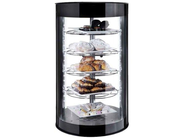 Neumarker Warming Showcase Tower 2 Glass Doors - Durable LED Lighting - Ø435x (h) 710 mm
