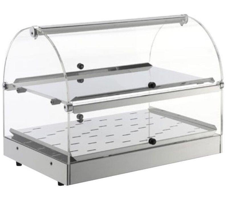 Neumarker Warming Showcase SS 2 Etagen - Öffnung auf beiden Seiten - 500x350x (h) 380 mm