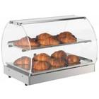 Neumarker Warming Schaukasten aus Edelstahl - Öffnung auf beiden Seiten - 500x350x (h) 370 mm