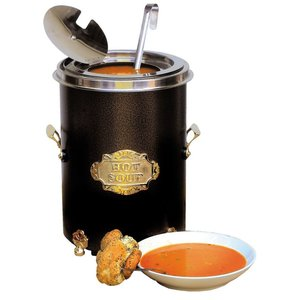 Neumarker Hot Soup Black - Soup Kettle 5 Liter - Ø250x (h) 350 mm