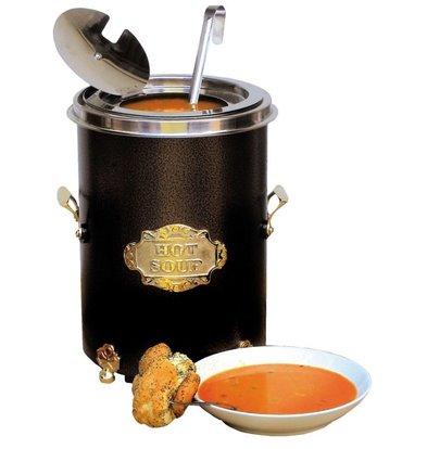 Neumarker Hot Soup Zwart - Soepketel 5 Liter - Ø250x(h)350 mm