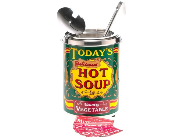 Neumarker Die heutige Hot Soup - Suppenkessel 5 Liter - Ø250x (h) 350 mm