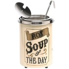 Neumarker Hot soup of the Day - Soepketel 5 Liter - Ø250x(h)350 mm