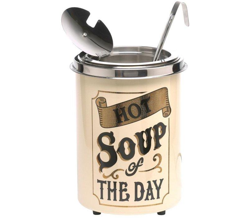 Neumarker Heiße Suppe des Tages - Suppenkessel 5 Liter - Ø250x (h) 350 mm
