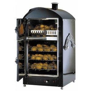 Neumarker Kartoffelofen 100 + 100 Potatoes - 590x590x (h) 1200 mm - 400 V / 6 kW